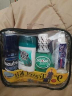 Convenience Kit 10 Piece Travel Kit for Men - TSA Compliant
