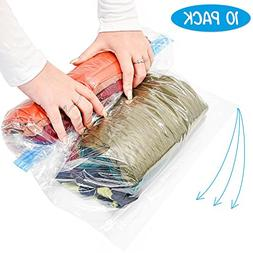 10 Large Vacuum Compression Storage Bags For Saving Space Wh