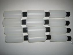 12-2-ounce Travel Bottles with Flip Caps