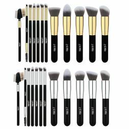 12PCS Makeup Brushes Kit Sets Foundation Blush Face Powder E