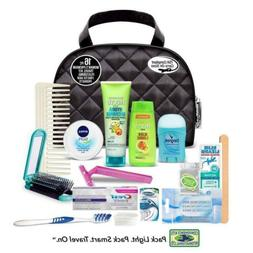 16 pc assembled travel kit hair nivea