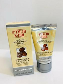 1X BURT'S BEES SHEA BUTTER HAND REPAIR CREAM 1.7 OZ EACH TRA