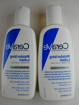 Cerave Moisturizing Lotion Normal to Dry Skin, 3 fl. oz. ea
