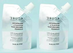 2 x Acure Resurfacing Glycolic & Unicorn Root Cleanser 0.67o