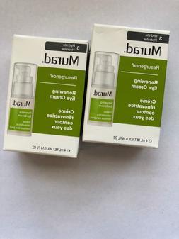 2X Murad Renewing Eye Cream 0.14 Oz  Travel Size Resurgence