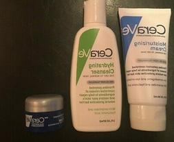 3 cera ve hydrating cleanser, moisturizer and healing ointme