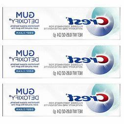 Crest Gum Detoxify Toothpaste, Deep Clean, Travel Size, 0.8