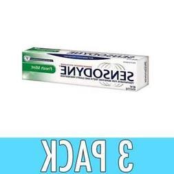 3 pack - SENSODYNE Travel Size Toothpaste For Sensitive Teet