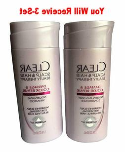 Clear Travel Size Shampoo + Conditioner TSA Approved Moistu