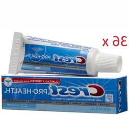 36 PACK Crest Pro Health Advanced Gum Protection Toothpaste