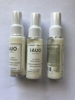 3X OUAI Haircare Leave In Conditioner  - Travel Size .84 oz