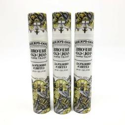 3x Poo-Pourri Before You Go Toilet Spray Original Citrus Tra