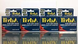 4 PK Lot Advil Tablets Travel Size 6 Ct. Each PK Headache Pa