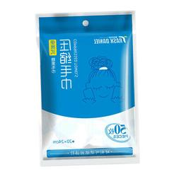 50x Mini Disposable Compressed Facial Towel Tablets Compact