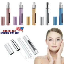 5pcs travel portable mini refillable perfume scent