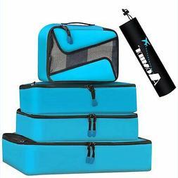 6 Set Packing Cubes - 3 Various Sizes Luggage Packing Organi
