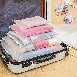 7-Size Waterproof Clothes Storage Bags Packing Cube Travel L