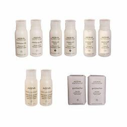Aveda Travel Set- 2 Shampoo 2 Conditioner 2 Lotion 2 Hand &