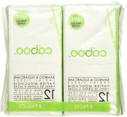 Caboo Natural Bamboo Facial Tissue Paper, Eco Friendly Trave