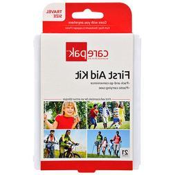 Carepak Travel-Size Essential First Aid Kits, 21 pc. Set Of