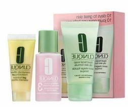 Clinique 3 Step Travel Size Set for Combination Oily to Oily