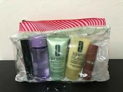 Clinique 6 PCS Travel Size Makeup Skincare Samples Gift Set