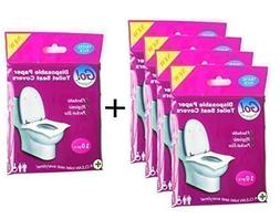 GoHygiene: Travel Pack of 4 PACKS  + 1 FREE PACK  ! - Dispos