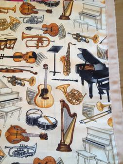 MUSICAL INSTRUMENTS -COTTON TODDLER/TRAVEL SIZE