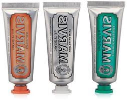 Marvis Travel with Flavor Set, Classic/Whitening/Ginger