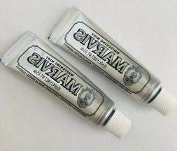Marvis Whitening Mint Toothpaste .5oz / 10ml Travel Size / M