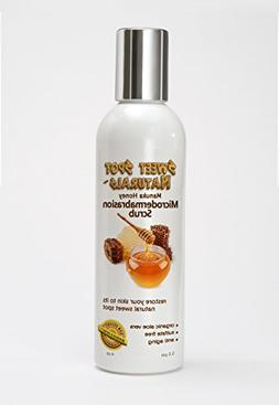 Microdermabrasion Scrub, Best Face and Body Exfoliator. Gent