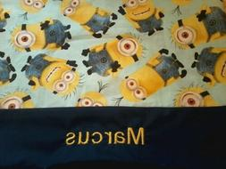 Personalized Toddler,Travel, Size Pillowcase dispicable me m