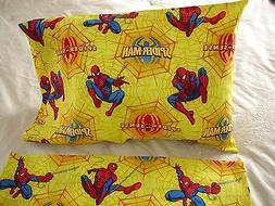 Spiderman  Cotton Toddler/Travel Size Pillowcase