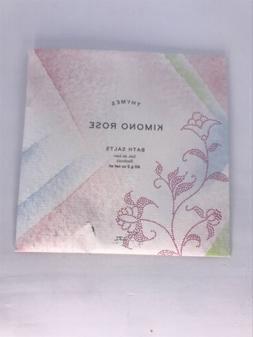 Thymes Kimono Rose Bath Salts 2oz / 60g Travel Size Sealed!