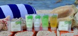 Travel Size Hotel Guest Amenity Set Bar Soap, Shampoo, Condi