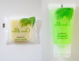 Travel Size Hotel Shampoo & Soap Value Set: 50 pieces Shampo