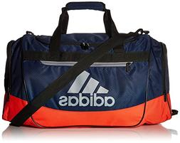 adidas Defender III Duffel Bag, Collegiate Navy/Red, Medium
