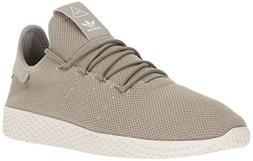 adidas Men's PW Tennis HU Sneaker, Tech Beige/Tech Beige/Cha