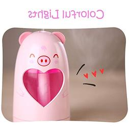 LtrottedJ Air Humidifier,Lamp Humidifier Cute Animal LED Hum