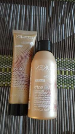 Redken all soft Shampoo & Conditioner Travel Set