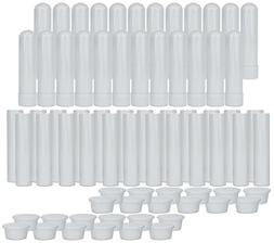 Essential Oil Aromatherapy Blank Nasal Inhaler Tubes , For