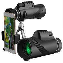 AutumnFall Phone Telescop,40x60 High Power Lens BAK4 Monocul