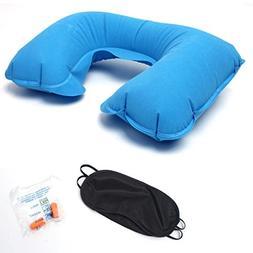 AutumnFall U-Shaped Inflatable Pillow Set-U Shaped Travel Ai