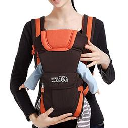 Baby Carrier Sling Wrap Versatile Backpack Front Back with H