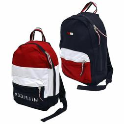 Tommy Hilfiger Backpack  Book Bag School Travel Colorblock U