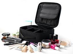 Travel Makeup Bag - Portable Waterproof Toiletry Make Up Bag