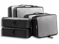 Bagail 6 Set Packing Cubes,3 Various Sizes Travel Luggage Pa