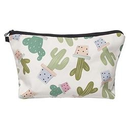 Makeup Bags 3D Cute Cosmetics For Travel Ladies Pouch Cosmet