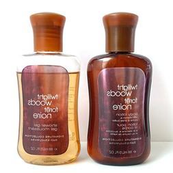 Bath & Body Works Twilight Woods 3.0oz each Traveler Shower