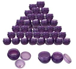 beauty product containers 36 Pieces 10G/10ML Purple Frosted